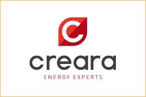 Creara logo with border