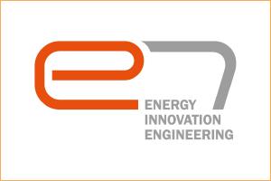 e7 Logo with border